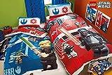 Lego Star Wars Battle Single Duvet Cover Polycotton Bed Set Reversible Panel