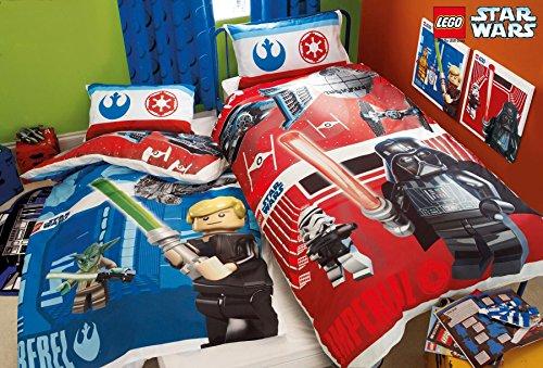 Lego Star Wars Kampf Einzel Bettwäsche Polybaumwolle Bettwäschegarnitur Reversible Panel -