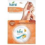 Kara Orange Nail Polish Remover Wipes, 30 Count