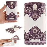 Guran® TPU Silikon Hülle für ZTE Blade L5 / ZTE Blade L5 Plus Smartphone Gemalt Schutzhülle Cover-Traufe