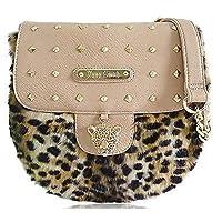 Women Massenger Studs Bag Ladies Anna Smith LYDC Designer Leopard Furry Handbag
