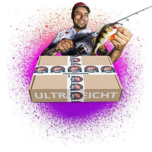 MFB UltraleichtBox  // Kunstköder Set zum Angeln auf Barsch, Forelle, Co.  -