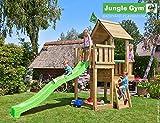 JUNGLE GYM Spielturm Jungle CUBBY mit Wellen-Rutsche, Komplettbausatz