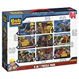 Jumbo Bob der Baumeister 9in 1Puzzle Bumper Pack