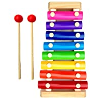 Little Monkey® Wooden Xylophone Musical Toy for Children with 8 Note (Big Size)