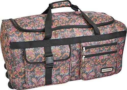 Leichte und Robuste Sport und Reisetasche Rollen Farbe Indian Flower