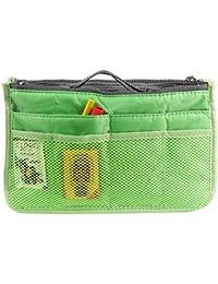 Tamirha Polyester Smart & Cool Green Multi Utility Travel Bag Organizer