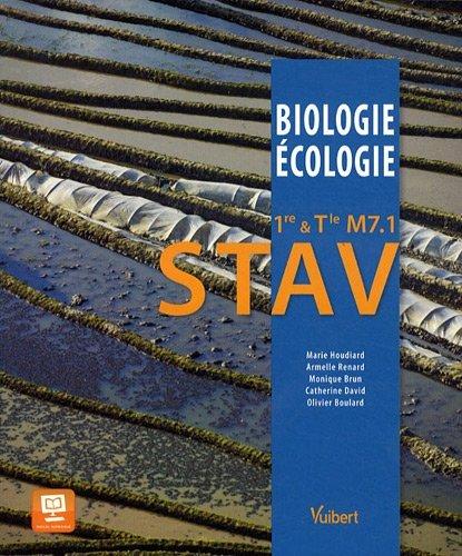 Biologie-Ecologie 1re & Tle M7.1 STAV - Le fait alimentaire - Nouveau programme by Marie Houdiard (2012-05-29)