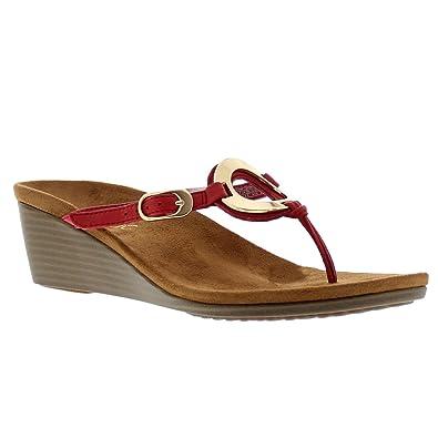 aac521d8a Vionic Womens 380 Orchid Park Leather Sandals  Amazon.co.uk  Shoes   Bags