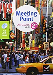 Meeting Point anglais 2de : A2/B1 (1CD audio)