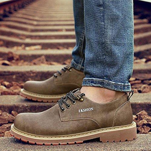 Autunno e inverno scarpe di scarpe basse a taglio basso britannico scarpe da ginnastica Martin scarpe brown