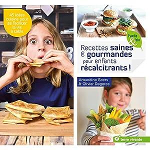 """Afficher """"Recettes saines & gourmandes pour enfants récalcitrants !"""""""