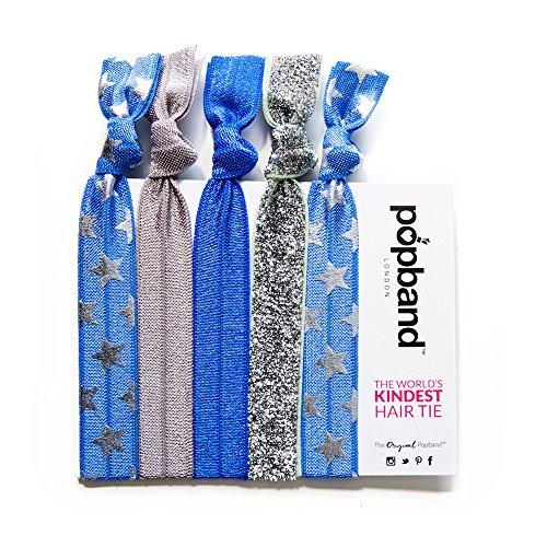 PopBand - 5er-Pack Haarbänder - Cheerleader Cheerleader Glitzer