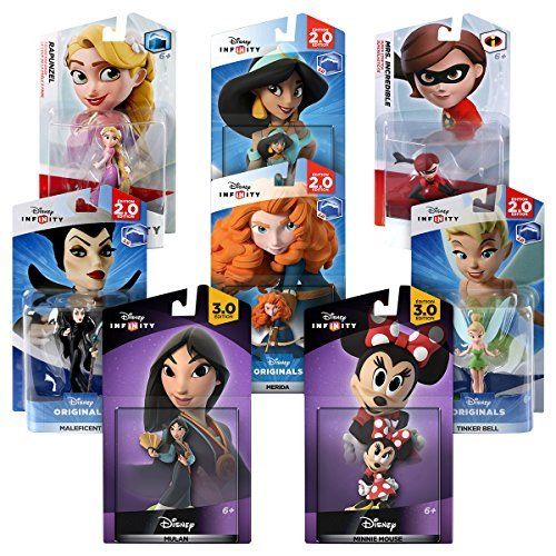 Edition: Girl Power Bundle - Amazon Exclusive by Disney Infinity (Disney Infinity-girls)