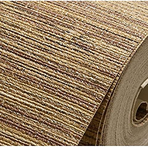 GXX solid-colored straw wallpaper/ plain linen textured wallpaper/The decoration of the hotel bedroom living room TV background wall