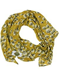 New with Tags Floral Dandelion Print Scarf Women Scarves Large Shawl (Olive green)