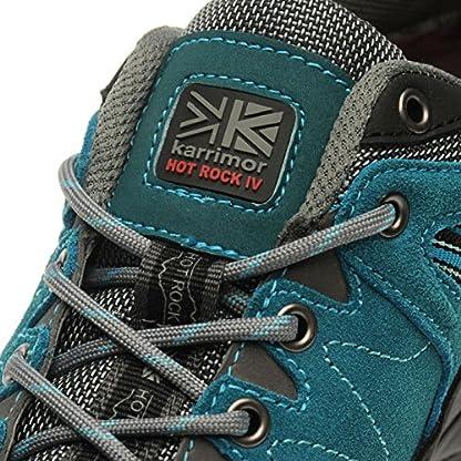 Karrimor Womens Hot Rock Low Walking Shoes Waterproof Lace 4