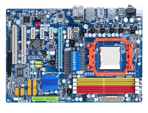 Gigabyte GA-MA770-UD3 Mainboard Sockel AMD AM2+ 770 4X DDR2 Speicher ATX (Ddr2 Für Mainboard)