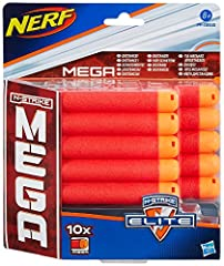 Idea Regalo - Hasbro Nerf Nerf Mega - Ricarica 10 Dardi