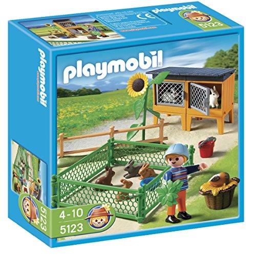 Playmobil  - Granja conejos con corral...
