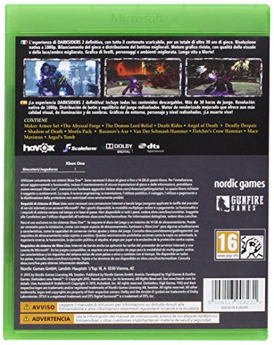 Zoom IMG-1 darksiders ii deathinitive edition