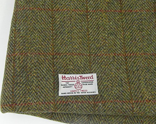 Authentic Harris Tweed Stoff 100% reiner Schurwolle mit .. Etiketten, 75 x 50...