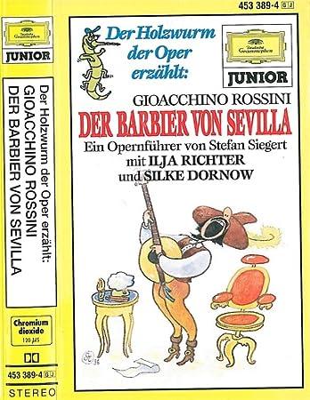 Der Barbier Von Sevilla Musikkassette Der Holzwurm Der Oper