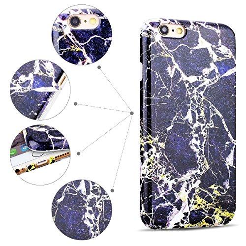 Cover iPhone 6 Plus Spiritsun Case iPhone 6S Plus Custodia Moda Ultraslim Soft TPU Case Handy Cover High Quality Case Elegante Souple Flessibile Liscio Copertura Perfetta Protezione Shell Morbido Sili Nero
