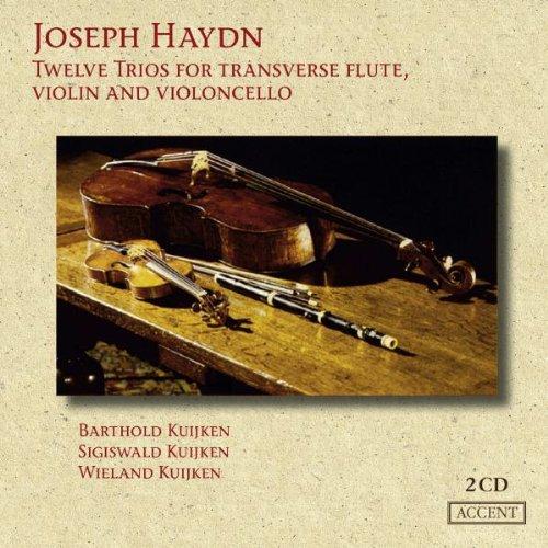 12 Trios Pour Flûte Traversiere, Violon & Violoncelle