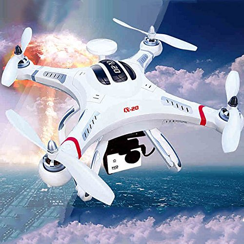 cxhobby cx-20RC Quadcopter auto- pathfinfer RTF Drone 6-axis GPS MX Klassiche System Hubschrauber für FPV UFO Flugzeug Spielzeug mit GoPro Kamera Mount–Weiß - 5