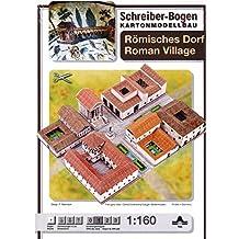 aue-verlag 42x 30x 7cm Romano Village Modelo Kit