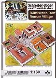 Aue-Verlag, 42 x 30 x 7 cm, numeri romani-Kit per modellismo, soggetto: villaggio