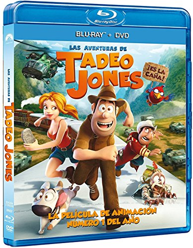 Las Aventuras De Tadeo Jones (DVD + BD) [Blu-ray]