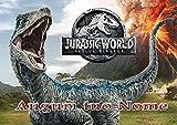 Cialda Personalizzabile Rettangolare 21x29,7 Dinosauro Jurassic World - dino003