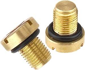 2x Kühlerschlauch Entlüftungsschraube Kühler Kühlablassschraube Schraube Mit O Ring 17111712788 Baumarkt