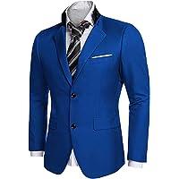 Leader of the Beauty Men's Casual Dress Suit Stylish Blazer Coats Jackets