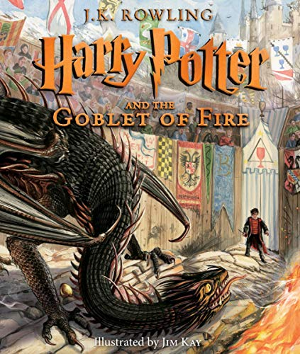 Harry Potter and the Goblet of Fire: The Illustrated