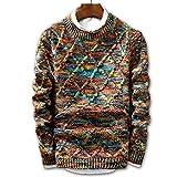 FEIDAO Männer Pullover Pullover Männer Marke Mode Pullover Pullover Männlichen Oansatz Streifen Slim Fit Strick Herren Pullover Mann Pullover Männer XXL