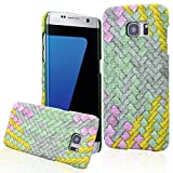 We Love Case Cover para Samsung Galaxy S7 Edge Funda Duro Parachoques Piel Suave Carcasa Cuero...
