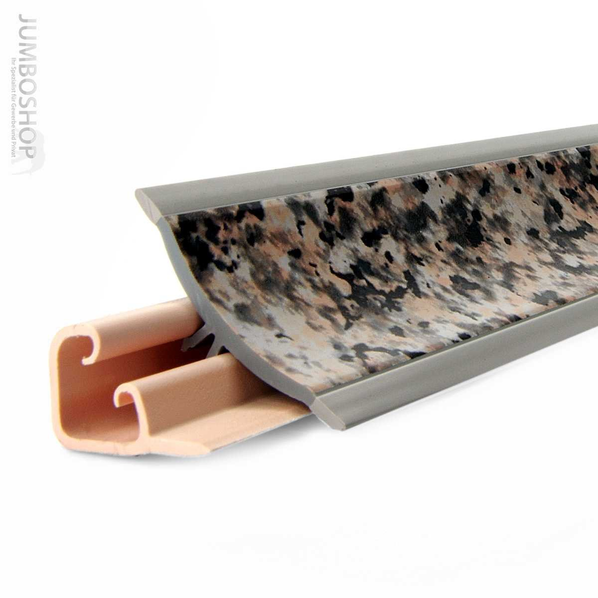 Abschlußleisten für küchenarbeitsplatten  150cm Küchenabschlussleiste Küchenleiste Wandabschlussleiste -- 23 ...