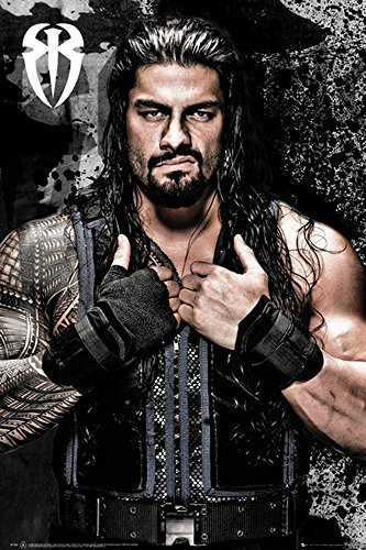 empireposter 738288 Sport poster Wrestling - WWE - Superstars Roman Reigns Show Fight, Carta, Multicolore, 91,5 x 61 x 0,14 cm