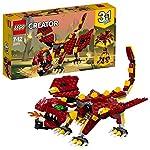 LEGO- Creator Creature Mitiche, Multicolore, 31073  LEGO
