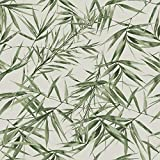 Superfresco Easy Papier Peint Support intissé Feuilles de Bambou Vert Taupe 1005 x 52cm