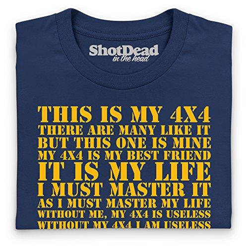 This Is My 4x4 T-Shirt, Herren Dunkelblau