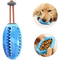 BTkviseQat Zahnbürsten-Stick,Hundezahnbürste Hundespielzeug Kauspielzeug,Ball Leckerli-Spender für Hunde Welpen…