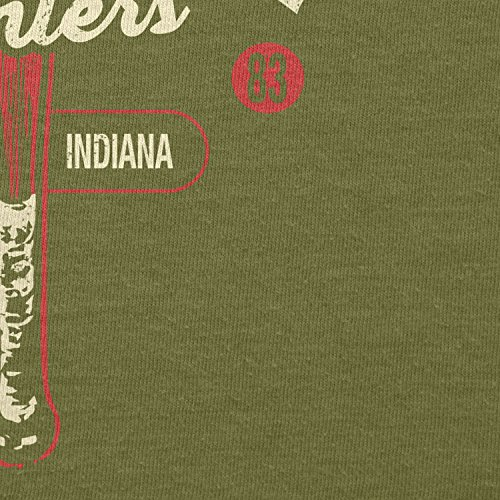 Texlab–Monster Hunter Hawkins indiana–sacchetto di stoffa Oliva