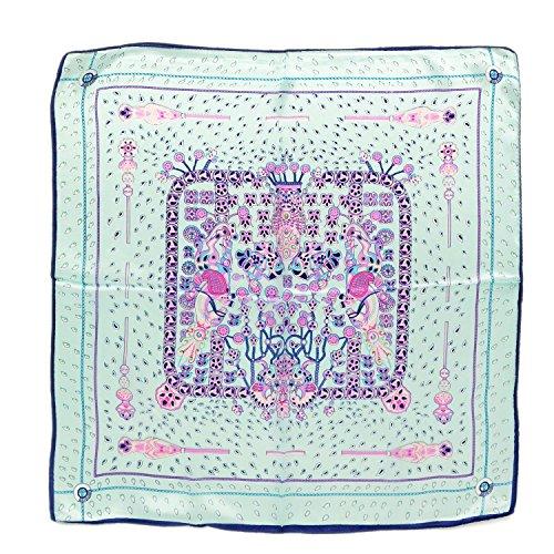 cadeau-nol-black-friday-foulard-carr-imprim-100-soie-5252-cm-bleu-claire