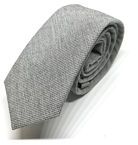 good. Designs Slim-Fit de Line Tie corbata Hombre corbata, en diferentes colores, gris, ajustable