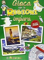 Gioca con le regioni e impara. Con adesivi