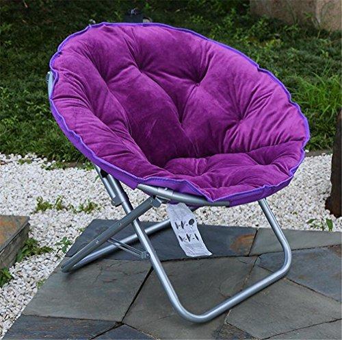 TTYY Moon Chair 4PCS Chaise pliante confortable intérieure / extérieure (s'il vous plaît laissez un message si vous avez besoin d'une couleur différente) , 004